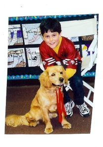 Bailey (and my son Michael) 1999